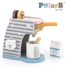 木製玩具 PolarB(ポーラービー) コーヒーマシーンセット