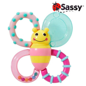 sassy サッシー カミカミみつばち 限定ピンク