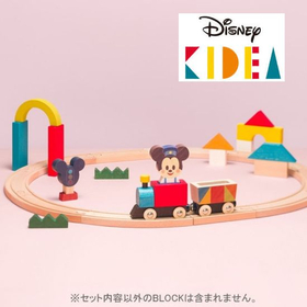 KIDEA キディア  TRAIN&RAIL/ミッキーマウス