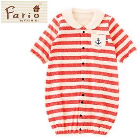 マリン2Wayベビー服(レッド)(生後0歳~6ヶ月)