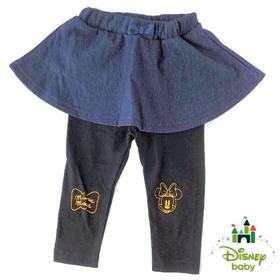 Disney baby ディズニーミッキーマウススカート付きパンツ
