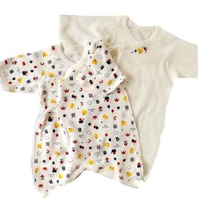 赤ちゃんが初めて着るベビー服 肌着2着セット