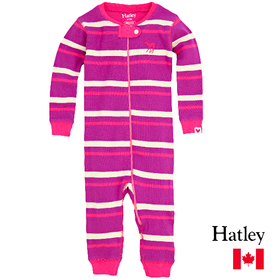 Hatley(ハットレイ) Neon Stripes Infant Sleepy Romper