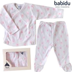 スペイン製 Babidu(バビドゥ) 新生児用ベビー服上下セット