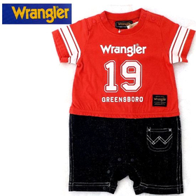 Wrangler(ラングラー)ロンパース(レッド)