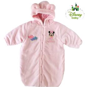 Disney baby ディズニーミニーマウス防寒おくるみ