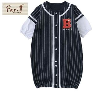 野球ユニフォーム風2Wayベビー服