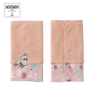 Moomin baby ムーミン リバーシブルベルトカバー/ボンゴボンゴ/ピンク