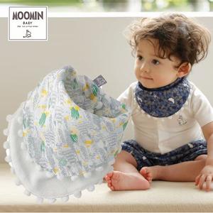 Moomin baby ムーミン ハンキィビブ/モミ/ホワイト