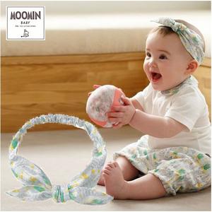 Moomin baby ムーミン リボンヘアバンド/ボンゴボンゴ/ホワイト