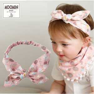 Moomin baby ムーミン リボンヘアバンド/ボンゴボンゴ/ピンク