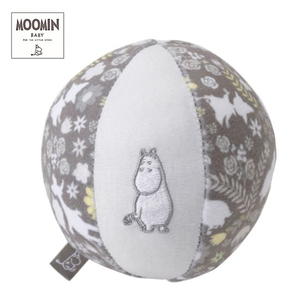 Moomin baby ムーミン ベビーボール/ムーミンフラワー/グレー
