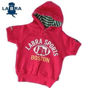 こども用 LABRA半袖スウェットパーカー