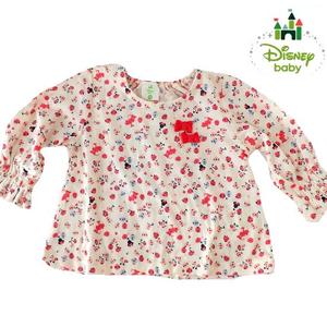 Disney baby ディズニーミニーマウス長袖シャツ