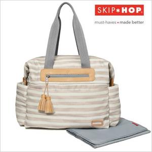 SKIP HOP マザーズバッグ/ライトフェザー/ボーダー