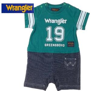 Wrangler(ラングラー)ロンパース(グリーン)