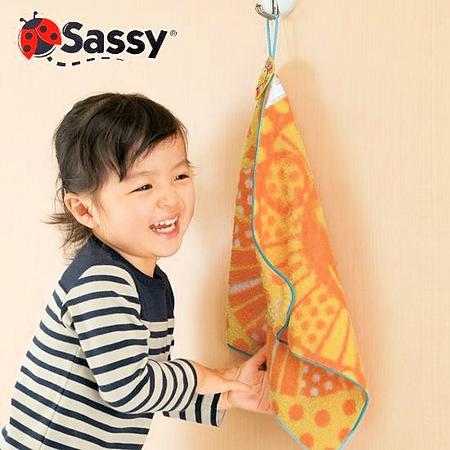 sassyループ付タオル