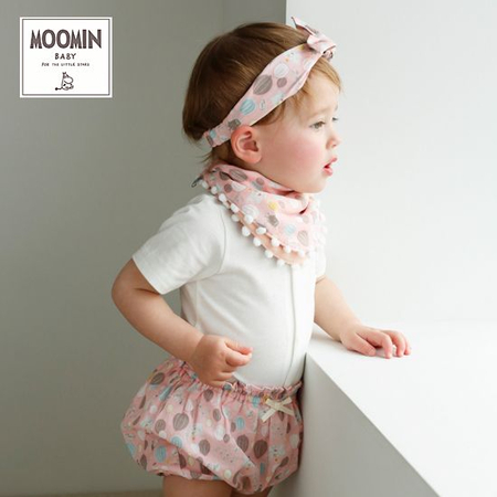 ムーミン女の子ベビー服
