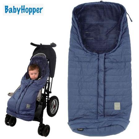 BabyHopper ウインター・パッカブルフットマフ (ブルー)