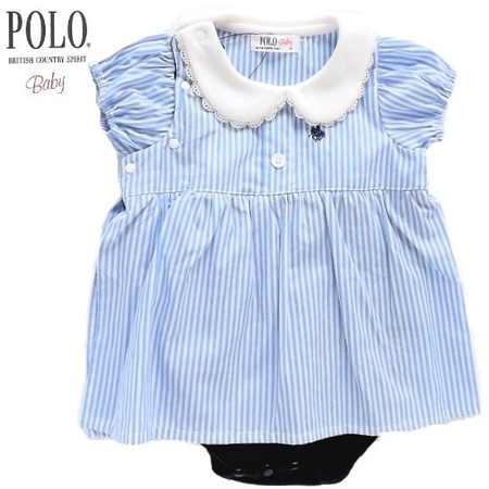 POLObaby 女の子春夏ベビー服