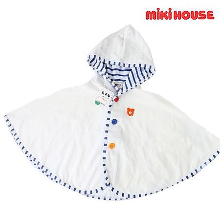 mikihouse ミキハウス 男の子ポンチョ