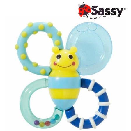 sassy サッシー カミカミみつばち 限定ブルー