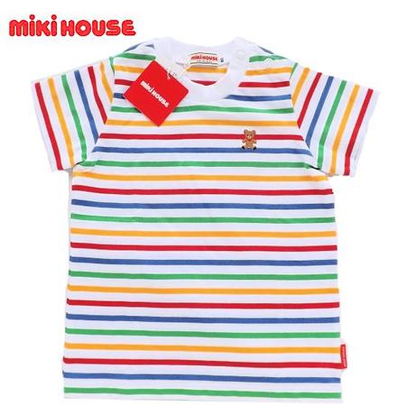 ミキハウス ベビーTシャツ