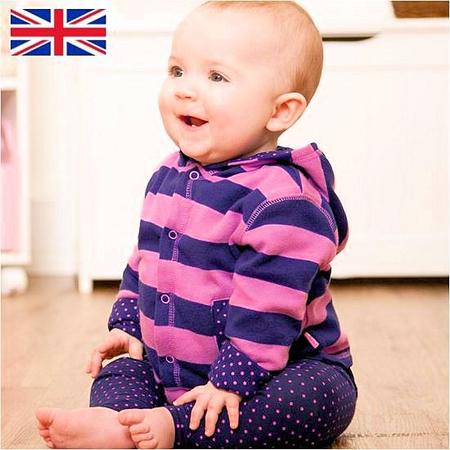 イギリスベビー服 ジョジョママンべべ リバーシブルパーカー