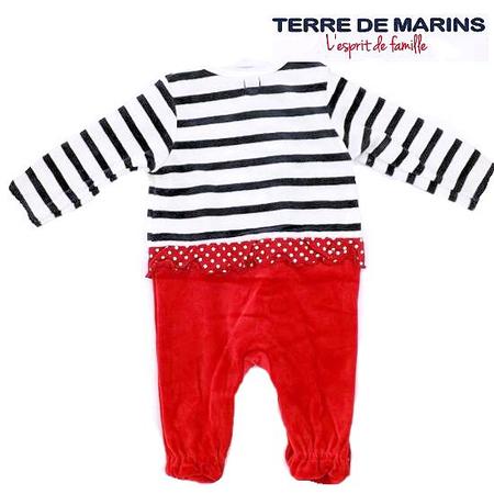 フランスベビー服 テールドマランカバーオール