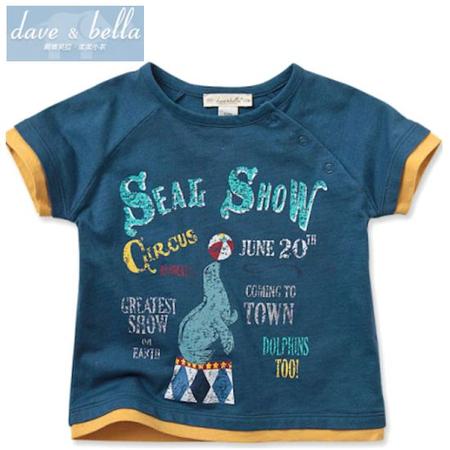1歳 davu&bella ベビーTシャツ