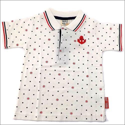 TRIPLE MAGIC マリンポロシャツ サイズ95(3歳)